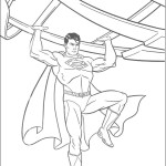 Magnificent adventures of an unbeatable superhero Superman 20 Superman coloring pages