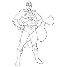 superman cartoon coloring pages - photo#23