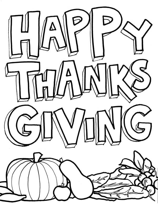 Thanksgiving Coloring Pages Easy Coloring Pages