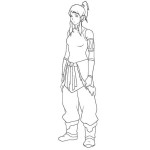 Bravery story of a Avatar girl The Legend of Korra 20 The Legend of Korra coloring paes