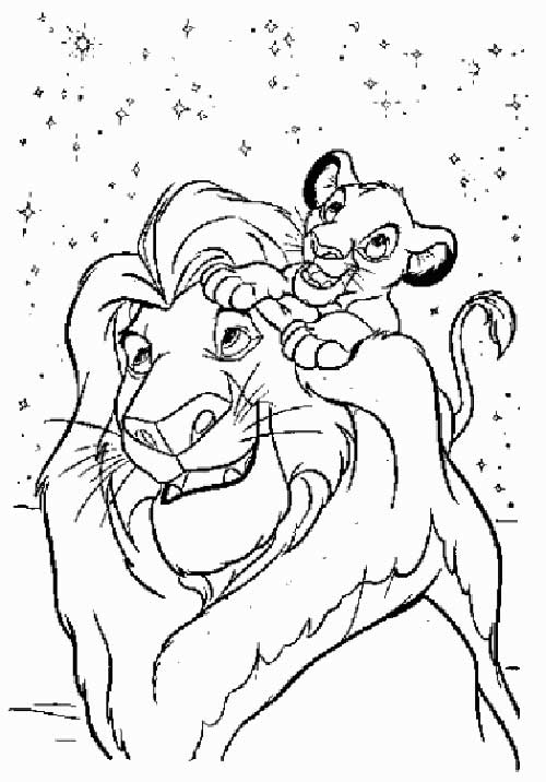 Revenge story of Simba The Lion King 20 The Lion King coloring pages ...