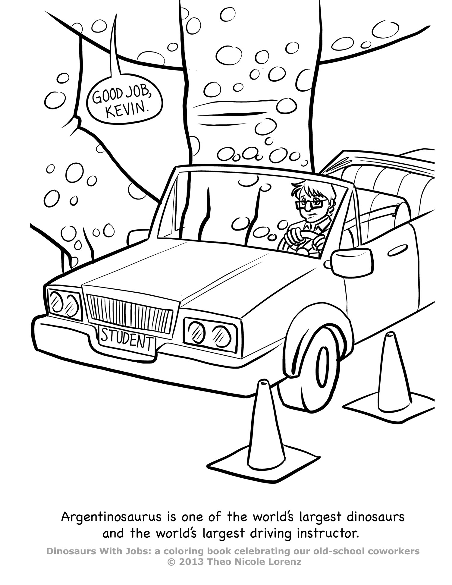 Job Coloring Page – Children's Ministry Deals | 1941x1500