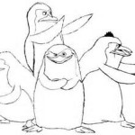 Funny adventures of the African animals The Penguins Of Madagascar 17 The Penguins Of Madagascar coloring pages