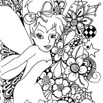 Magical tale of a little fairy TinkerBell 20 TinkerBell coloring pages