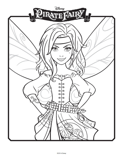 Magical Tale Of A Little Fairy TinkerBell 20 TinkerBell Coloring