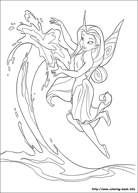 Tinkerbell Coloring Pages For Kids | 794x567