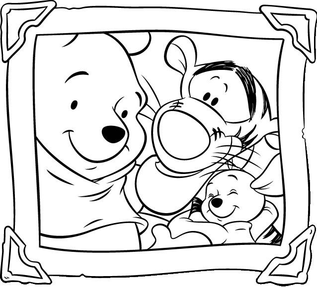 - Winnie-the-pooh Coloring Sheets – Free Printables