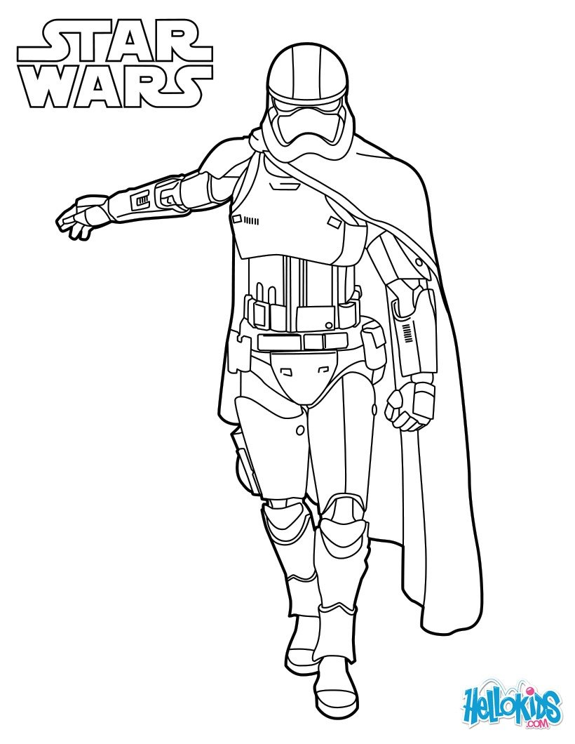 23 Star wars coloring pages for