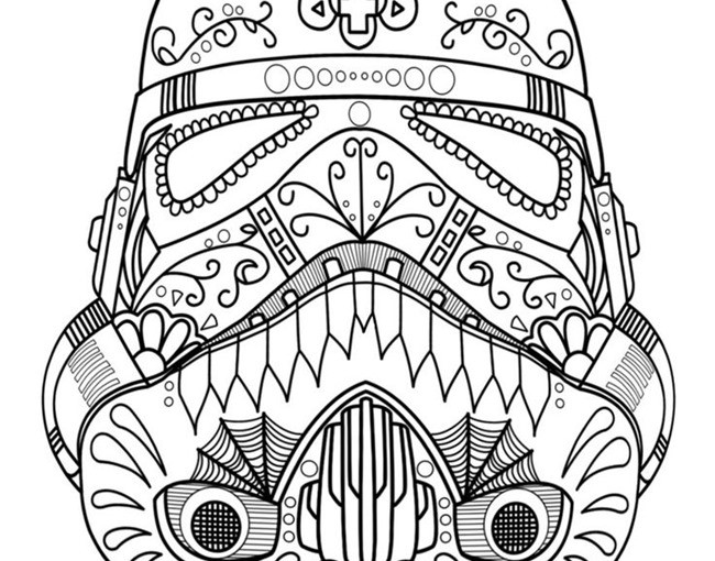 23 Star wars coloring pages for Fiction Travel