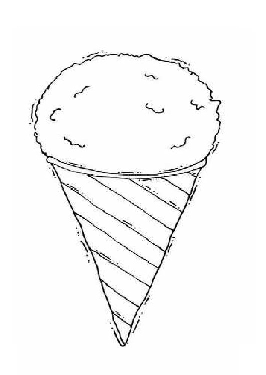 Coloring page - Summer Without Ice cream