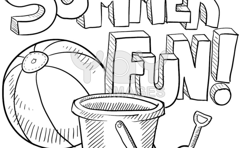 Pool Party Coloring Pages Coloring