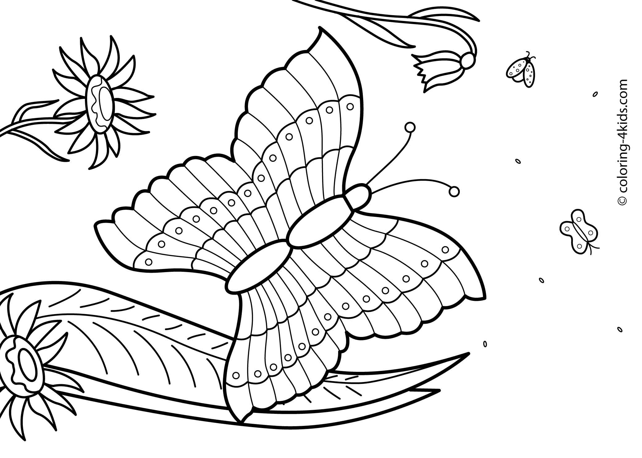 27 summer season coloring pages part 2 free printables for Free printable coloring pages summer