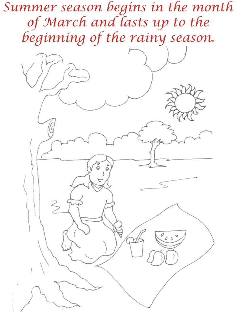 27 summer season coloring pages part 2 free printables